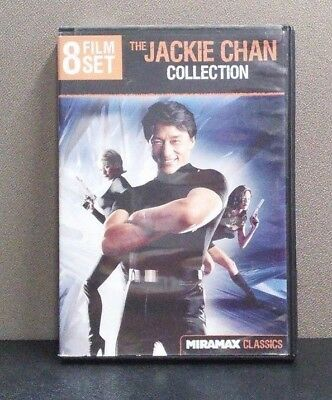 The Jackie Chan Collection: 8 Film Set     (DVD,  2-Disc Set)      LIKE NEW