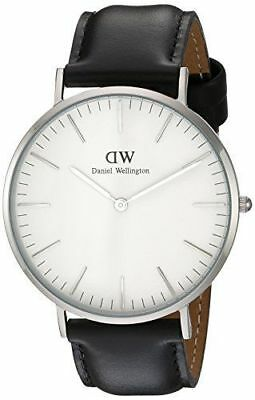 Original Daniel Wellington Classic Sheffield silber 40mm DW00100020 NEU
