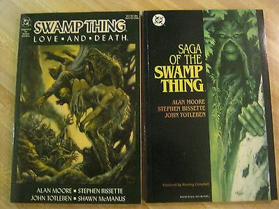 Swamp Thing Love And Death Trade Paperback Tpb Alan Moore1st Print