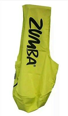 New ZUMBA FITNESS Satchel Tote /GYM Sling Bag Lime Punch Fast Free Shipping. .