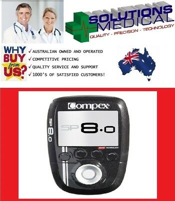 Compex Sp 8.0 Muscle Stimulator Pain Relief Muscle Stimulator Fitness Sport