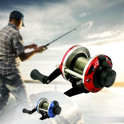 1x Portable 3.6:1 Métal Spinning Reel Fishing Pêche Peche poisson roue Tackle EH