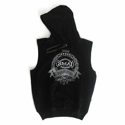 NEW SMAI Black Hoodie - King (Short) - Hooded Sweatshirt Pullover Adult Unise...