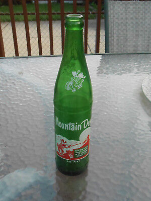 Vintage Mountain Dew Bottle One Pint