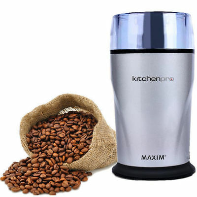 Grinder & Blender Coffee Herbs Spice Grinding & Mill 130W Maxim