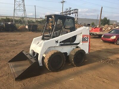 Bobcat 863G skid steer. Ready For Work ! Can ship Anywhere In The USA
