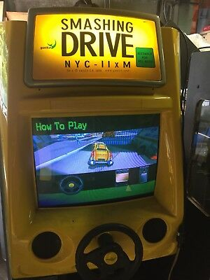 Coin Operated Smash N Drive Video Game