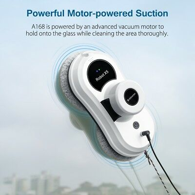 Alfawise S60 Smart Robotic Window Cleaner Automatic Glass Cleaning Robot