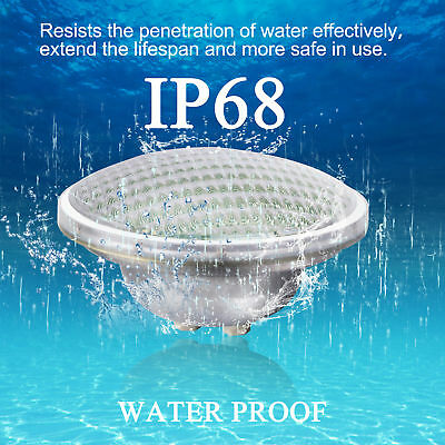 RGB 7 Color Underwater Swimming Pool Light Fountains Lamp + Remote Control IP68