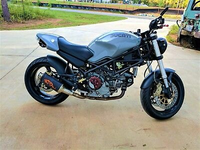 2001 Ducati Monster  2001 Ducati Monster 900 Concrete Tiger Edition M900 MINT LOW MILES 2v Desmo Air