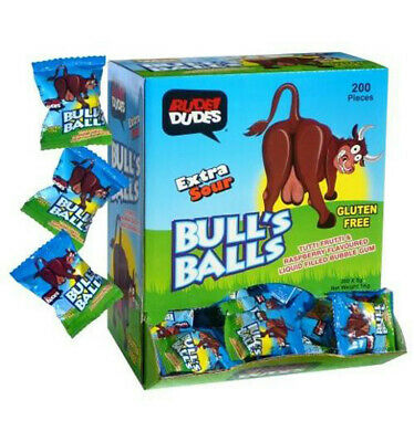Rude Dude Bulls Balls 5gm x 200