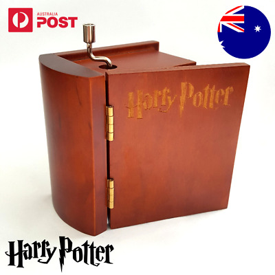 Music Box Harry Potter Hedwig's Theme Vintage Boxes Collectable Book Hand Crank