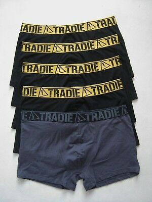 5X Mens Tradie Cotton Trunk