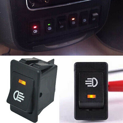 4-Pins 4 wire LED On/Off Rocker Toggle Switch Driving Fog Lamps/Work Light Bar