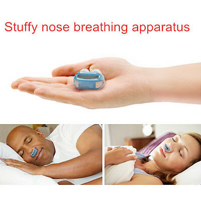 Anti Stop Snoring Snore Free Magnetic Silicone Snore Stopper Sleep Device EB5