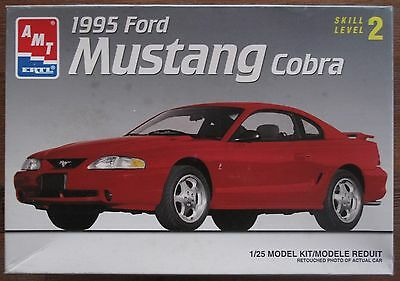 AMT 1995 Mustang cobra 1/25th scale kit