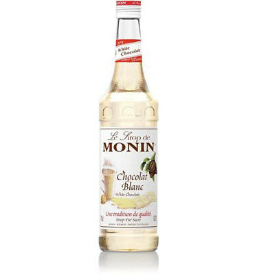 Monin White Chocolate Syrup Pet 1l