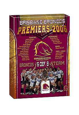 NRL TEAM Brisbane Broncos Past Premiers Player Image Canvas Christmas Gift