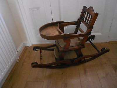 Edwardian Metamorphic High Chair view images to fully appreciate