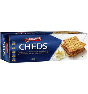 Arnotts Crackers Cheds 250g