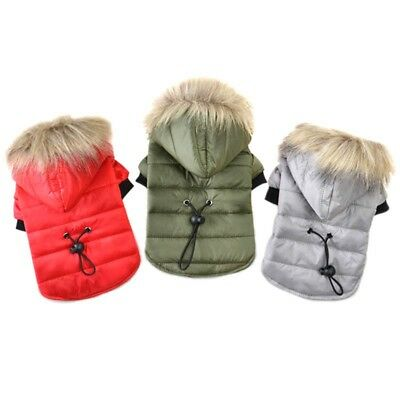 Pet Dog Coat Winter Warm Small Dog Clothes For Chihuahua Puppy Jacket Clothing