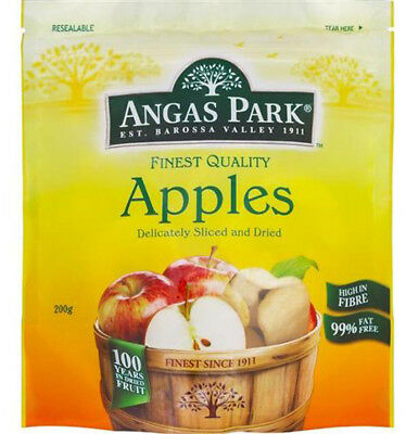 Angas Park Dried Apples 200gm