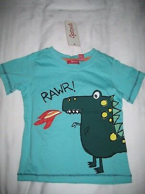 SPROUT Boys Green T-Shirt BRAND NEW Size 2