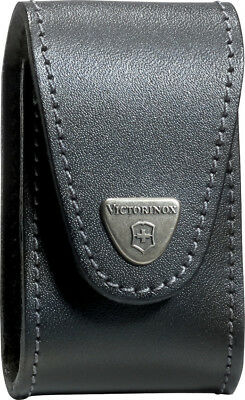 Victorinox SwissChamp XLTPouch 33240 Black leather belt pouch made to fit the VN