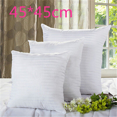 New Vacuum Compression Striped Pillow Core Square Pillow Inner Cushion Insert PQ