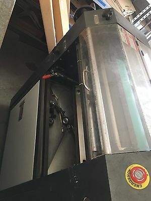 Uv / Aqueous coater with feeder and delivery unit and NEW rubber roller