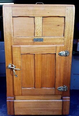 Bebarfald's Antique Timber Ice Box Fridge - 1890's / 1900's - Aussie History!