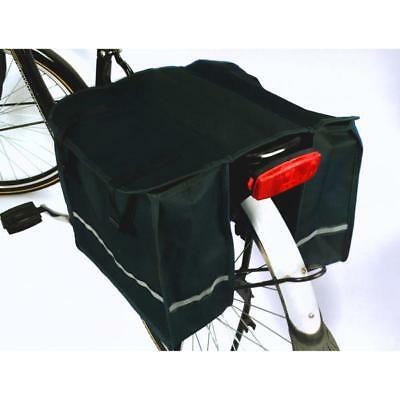 25L Bicycle Pannier Bag Cycle Double Rear Bag Bike Rack Carrier Water Resistant