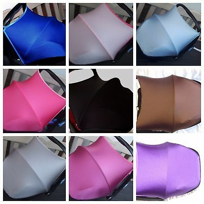 maxi cosi cabriofix pebble/universal car seat hood canopy sun shade many colours