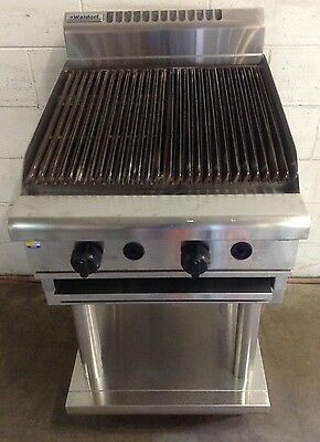 AS NEW WALDORF CH8600G-LS COMMERCIAL STAINLESS  BBQ STEAK CHAR GRILL. 600mm LPG