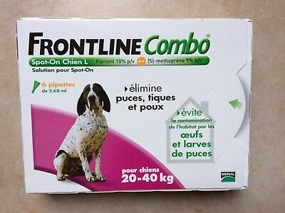 Frontline Combo L 20-40 kg 6 pipettes