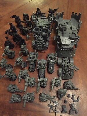 Warhammer 40k Orks Ork Army Games Workshop Ready To Paint War gaming Models !!!