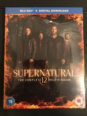 Supernatural Season 12 Blu Ray Box set Brand New