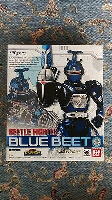 New BANDAI S.H.Figuarts Beetle Fighter BLUE-BEET JAPAN Free Shipping