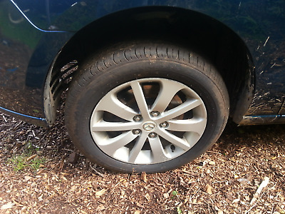 """Alloy wheels Mazda16"""" with good tyres"""