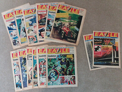 Eagle Comics / Magazine Vintage Joblot 1967 Vol18 No.18-23, 25-30 & Vol12 38-39