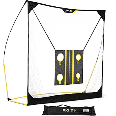 Golf Net 6 X 6ft with Chipping Target and Carry Bag SKLZ Quickster Training Aids