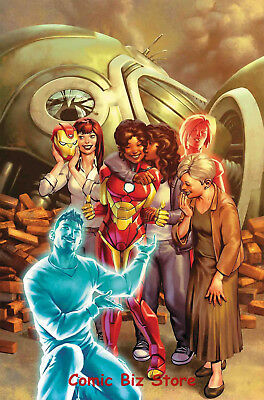 Invincible Iron Man #11 (2017) 1St Printing Bagged & Boarded Marvel Comics
