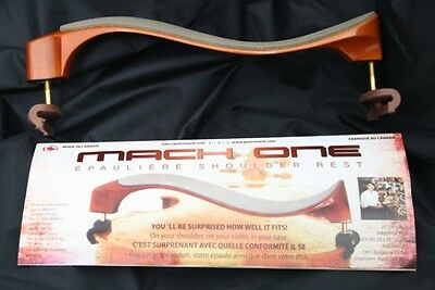 Mach One Maple Shoulder Rest for 4/4 and 3/4 Violin, Shoulder Rest