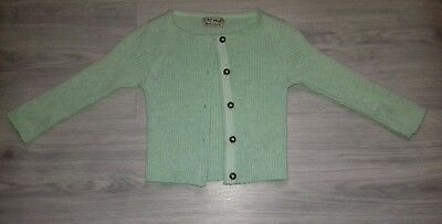 girls mint green cardigan from next 9-12 months
