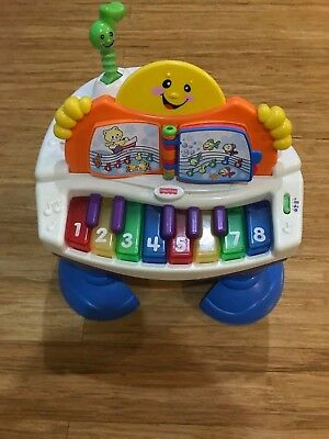 Fisher Price Laugh and Learn Baby Grand Piano| Activity| Pretend Play|Toy|Music