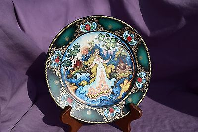 Russian Fairy Tale Cabinet Plates by Tianex of the USSR