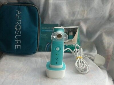 Aerosure Medic Rspiratory Device plus 2 Replacement HeadS and spacer device
