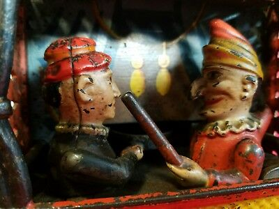 Original Punch and Judy mechanical bank