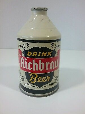 RICHBRAU CONE TOP Conetop CROWNTAINER BEER CAN Richmond, Virginia