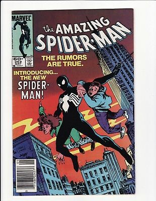 Amazing Spider-Man #252 1st Black Costume 1984 Marvel Comics VF
